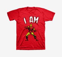 I Am Iron Man Tee