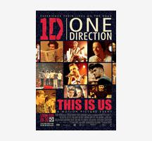 1D: This Is Us Poster